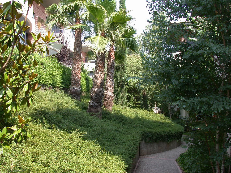 Proyecto paisajistico en zona comunitaria de san cugat for Jardineria barcelona