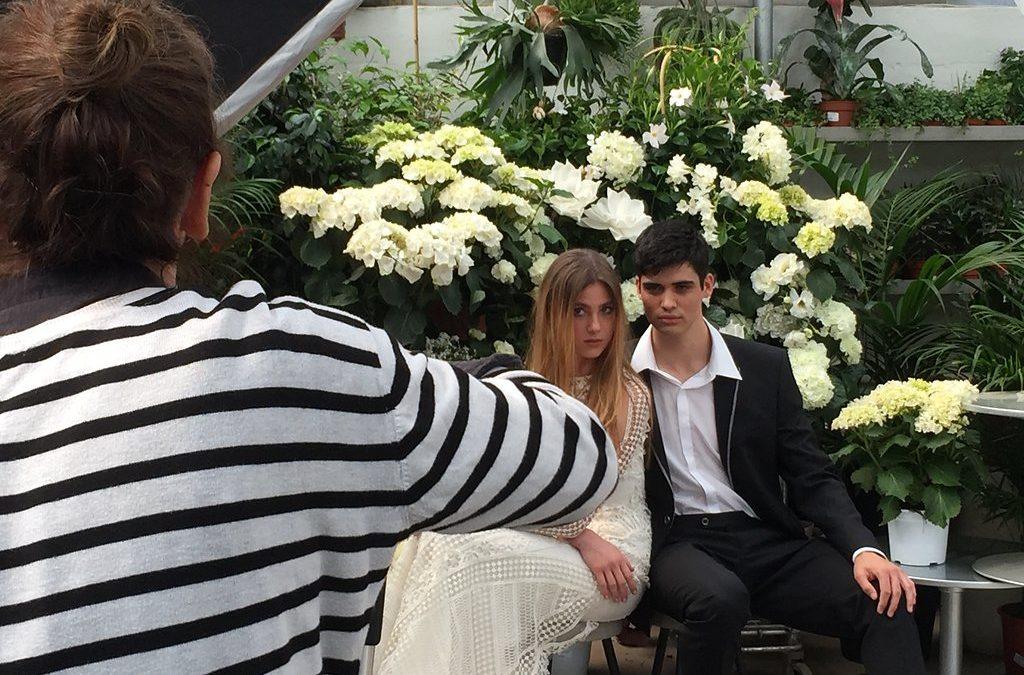Shooting portada de la nueva revista Novias de España