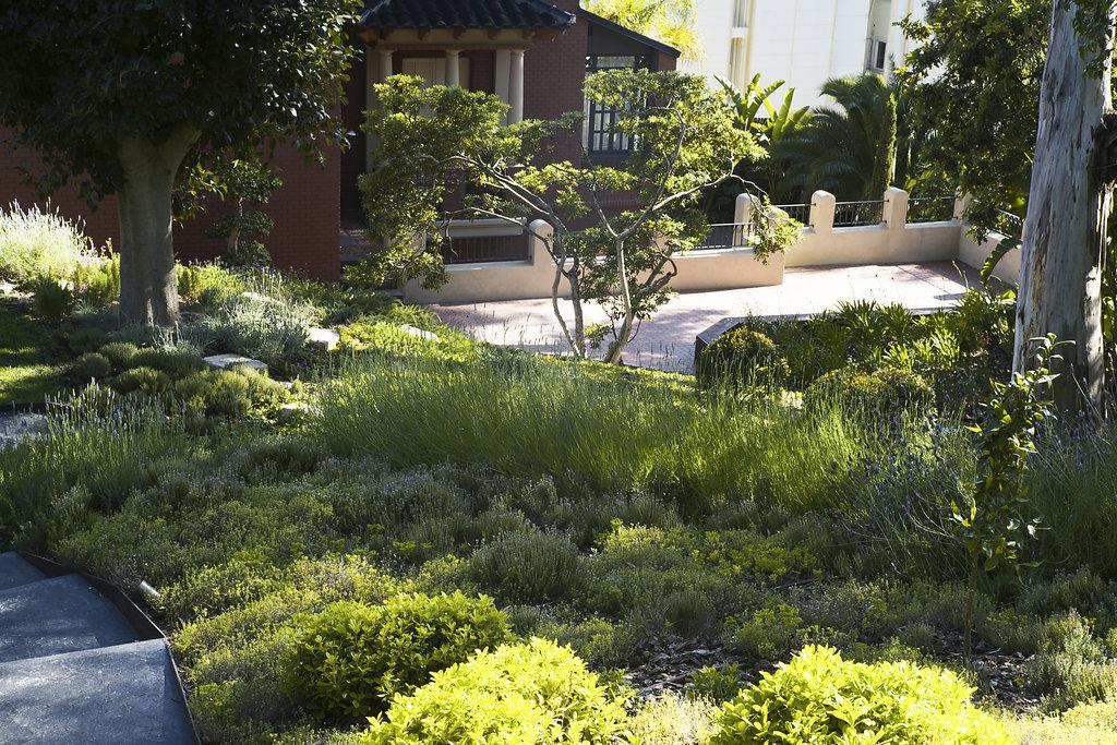 Proyecto de paisajismo de una propiedad privada en sant for Jardineria y paisajismo