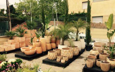 Macetas de barro, diseño para tu jardín