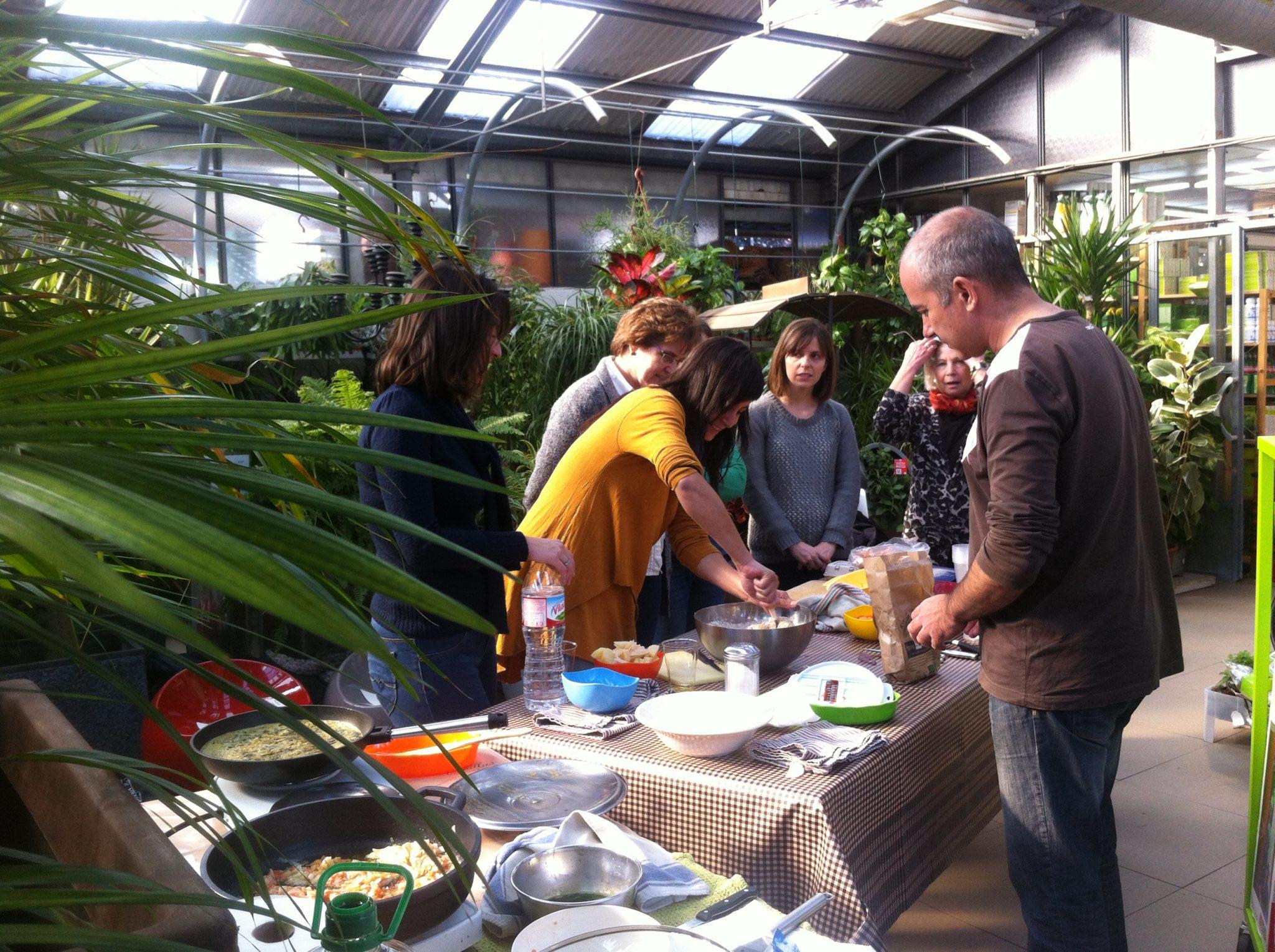 Taller de cocina de temporada conillas - Conillas garden center ...